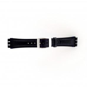 Uhrenarmband Swatch dunkelblau 19mm PVK-SC14.05