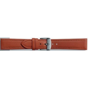 Uhrenarmband Universal 283.08 Leder Cognac 24mm