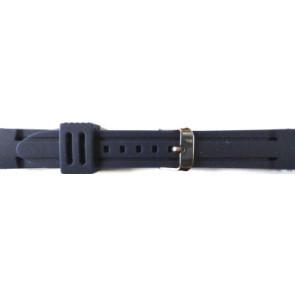 Uhrenarmband Universal 253 Silikon Blau 26mm