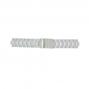 Timex Uhrenarmband T2N809 Stahl Silber 10mm