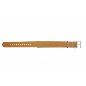 Timex Uhrenarmband T2P492 Leder Braun 20mm