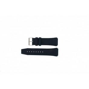 Tommy Hilfiger Uhrenarmband TH1251290972 Gummi Blau 22mm