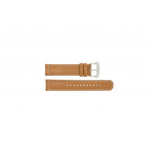 Seiko Uhrenarmband V172-0AG0 Leder Cognac 21mm