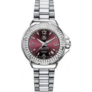 Uhrenarmband Tag Heuer WAC1219-BA0852 Stahl Stahl