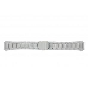 Casio Uhrenarmband WV-58DE-1AVEF / 10243173 Metall Silber 23mm