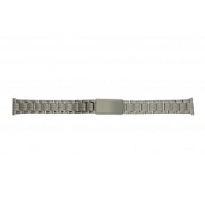Uhrenarmband YD93 Titan Silber 14mm