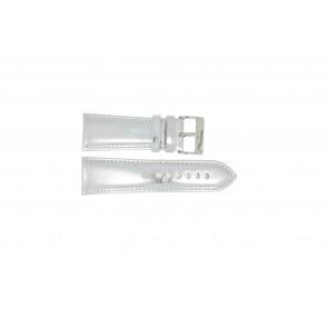 Uhrenarmband Universal 369.31 Leder Stahl 28mm