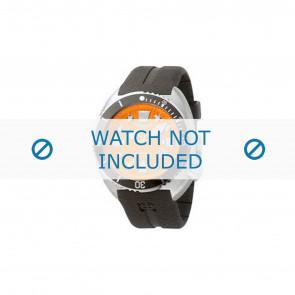Zodiac Uhrenarmband ZO8002 Kautschuk Schwarz