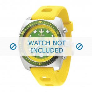 Zodiac Silikon Uhrenarmband gelb ZO-2241